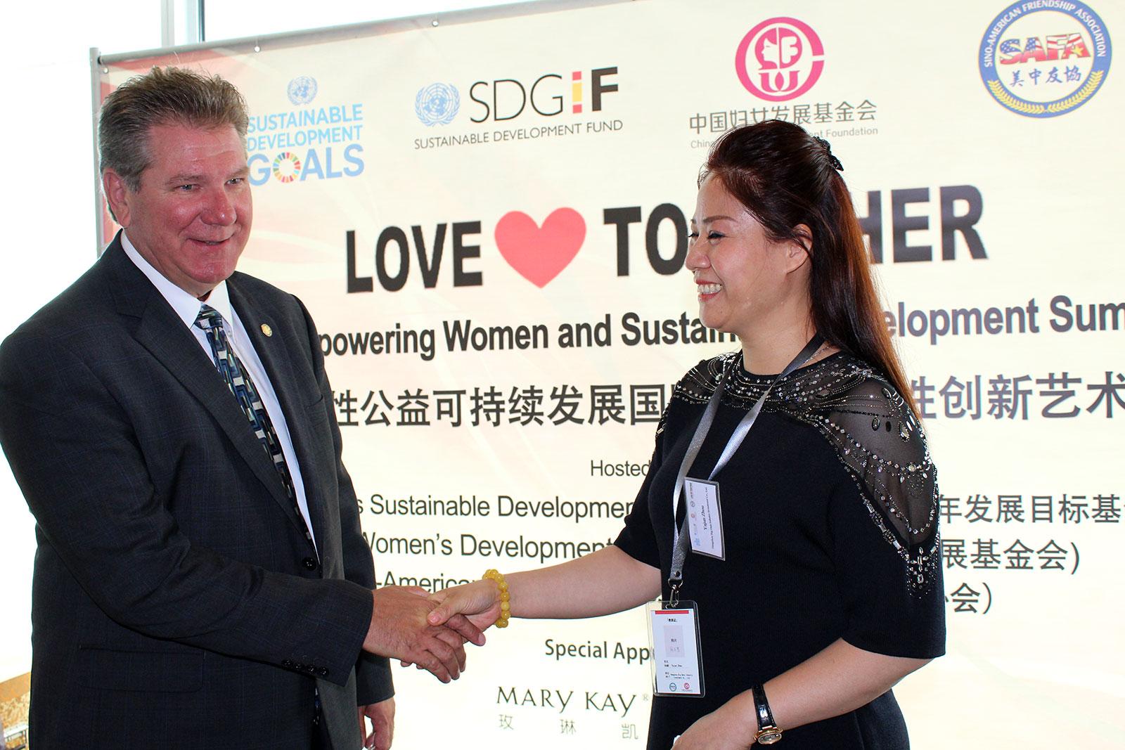 联合国2015女性公益可持续发展国际论坛暨女性创新艺术展